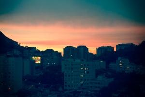 Blick aus meinem Fenster.