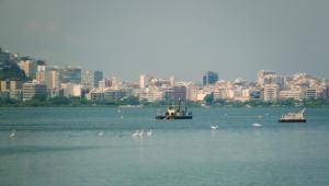 """""""A Lagoa"""" - Die Lagune, da fahre ich auf dem Weg zur Uni mit dem Fahrrad lang. Herrlich!"""