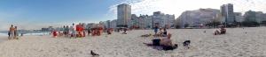 Deswegen also nochmal Strand in Rio.