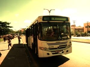 Und wir entdeckten die Busdirektverbindung São Luís - Deutschland