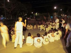 Abschluss bei meiner Capoeira Gruppe